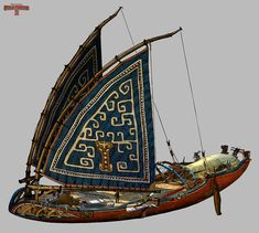 Pchan — The final ship design, early sketches and harpoons...