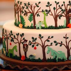 when #uCAKE for an #animal love big or small, THIS cake stands tall and will take centrestage: