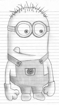 You Can Draw Me | Home Popular Despicable Picks Submit your own Soundtrack Partners Cute Drawings, Disney Cartoon Drawings, Beautiful Drawings, Amazing Drawings, Disney Art, Minion Art, Minion Sketch, Minion Drawing, Easy Pictures To Draw