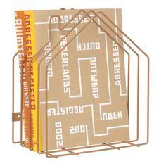 PT Metal Magazine Rack Foldable magazine rack Copper metal