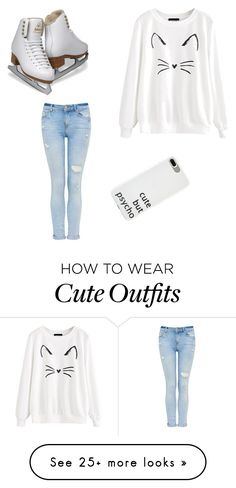 """""""Cozy date night"""" by daniellakarp on Polyvore featuring iceskatingoutfit"""