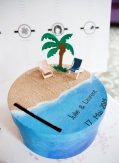 Discover recipes, home ideas, style inspiration and other ideas to try. Card Box Wedding, Wedding Guest Book, Diy Wedding, Wedding Gifts, Wedding Ideas, Tropical Party, Event Decor, Party Ideas, Brazil