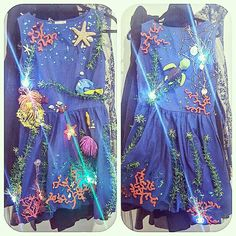 Coral reef finding nemo costume
