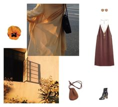 """""""pre fall 15"""" by tina-gadze ❤ liked on Polyvore featuring Valentino, H&M, Maison Margiela and Ray-Ban"""