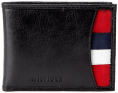 Tommy Hilfiger Mens Bexley Passcase Billfold Black One Size >>> Check out the image by visiting the link. Note: It's an affiliate link to Amazon #MenWallet
