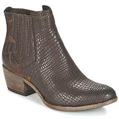 f72725a7d7d Μποτάκια / Low boots Mjus DALLAS Brown 350x350 Low Boots, Dallas, Brown,  Ankle