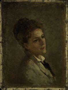 Nicolae Grigorescu - Portretul Alexandrinei Filionescu Portraits, Romania, Homeland, Faces, Paintings, Artists, Collection, Colors, Board
