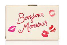Kate Spade Bonjour Monsieur clutch http://rstyle.me/n/wum7sbna57
