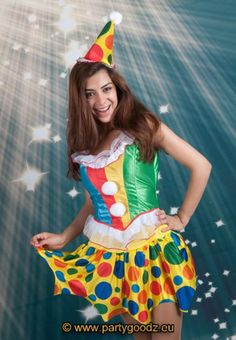 Sexy clown girl - Las Fiestas
