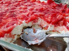 strawberry angel food cake dessert | Andrea The Kitchen Witch: Strawberry Deliciousness