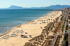 """Gandia, located in the Valencia province, is widely regarded as """"Madrid's Beach"""" due to the high density of tourists from the country's capital."""
