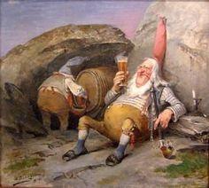 Nisse in beer tasting (Nils Bergslien)