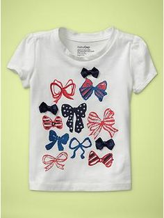 Glitter flag T (12-24 MOS) | Gap