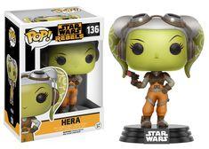 Star Wars Rebels POP! Vinyl Figure - Hera @Archonia_US