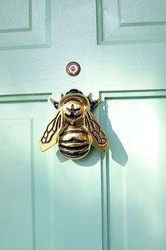 Site with tons of unique door knockers. Honey Bee Lovers