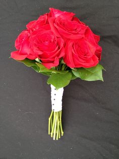 Red Rose Wedding Boquet--Darling Flowers Olive Branch, MS
