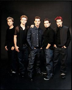 nsync. only the most legit boy band ever created. <3
