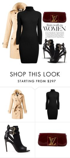 """""""Dec 25th (tfp)"""" by boxthoughts ❤ liked on Polyvore featuring Burberry, Rumour London, Louis Vuitton and tfp"""