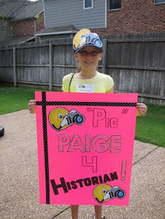 Historian Campaign poster