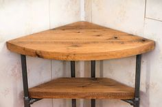 Hey, I found this really awesome Etsy listing at https://www.etsy.com/ca/listing/254086475/reclaimed-wood-corner-table-desk-solid