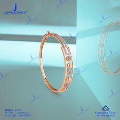 Indulge in the contemporary designs. Ladies Bracelet, Gold Bangle Bracelet, Diamond Bracelets, Gold Bangles, Diamond Jewelry, New Jewellery Design, Latest Jewellery, Gold Jewellery, Jewlery