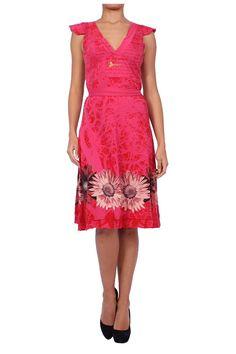 DESIGUAL -Women's Cotton Dress - XS