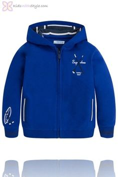 Boys Hooded Watersports Pullover in Blue Young Boys Fashion, Boys Fall Fashion, Boy Fashion, Spring Fashion, Boys Summer Outfits, Boy Outfits, Spring Outfits, Trending Boys Clothes, Basic Wardrobe Essentials