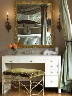 bedroom make-up table | Makeup Table Idea | Bedroom Vanity Ideas