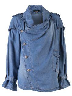 Funktional Laura Crop Denim Jacket - American Rag