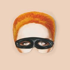 Elton John Celebrity Card Face Mask Singer Fancy Dress Party Single Face Mask With Elastic String Ready To Wear