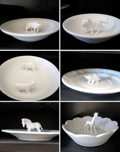 Living Thing Ring Dish {anthro hack} Sooooooo easy I can't believe everyone isn't making these! Love it.