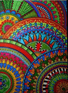 Aesy, you have some beautiful mandalas here!
