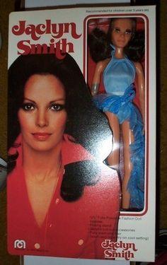 Jaclyn Smith 34 Awesome Celebrity Dolls You Won't Believe Exist Vintage Barbie, Vintage Dolls, Vintage Paper, Vintage Items, Childhood Toys, Childhood Memories, Jacklyn Smith, 1970s Dolls, Kristy Mcnichol