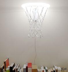 Dunk light by Karl Zahn ~ a glowing basketball hoop!