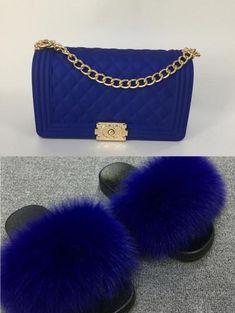 Trendy purses - Fur Slides and Bag Sets – Trendy purses Popular Handbags, Trendy Handbags, Cute Handbags, Cheap Handbags, Luxury Handbags, Purses And Handbags, Leather Handbags, Chanel Handbags, Luxury Purses