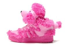 the latest f9a94 9b4dc Great Quality Adidas Jeremy Scott X Js Pink Poodle Sneakers Pink