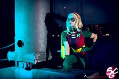 Robin: Stephanie Brown V by Aigue-Marine on DeviantArt Robin Cosplay, Dc Cosplay, Best Cosplay, Awesome Cosplay, Stephanie Brown Robin, Batwoman, Batgirl, Cool Costumes, Cosplay Costumes