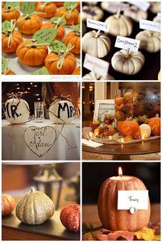 Fall Weddings/Pretty Little Pumpkins « Wedding Ideas, Top Wedding Blog's, Wedding Trends 2014 – David Tutera's It's a Bride's Life