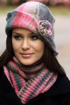 2013 Örgü Bere Atkı Şapka Modelleri