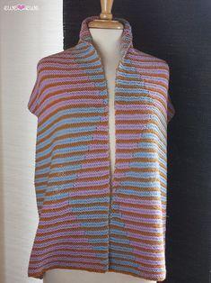 Split Compliment Scarf Kit designed by Ewe Ewe Yarns. #kitterlykits
