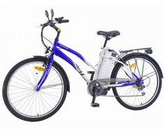 Bicicleta Eletrica Eletrika 1001 Azul R$1.999,00  ComprasMuitoMais.com.br