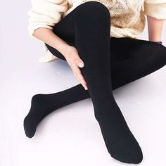 Thermal Tights, Winter Tights, Under Pants, Black Tights, Opaque Tights, College Fashion, Piece Of Clothing, Stylish Outfits, Cute Dresses