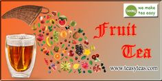 Tea Flavors, Cherry Apple, Raspberry, Strawberry, Fruit Tea, Teas, Blueberry, Popular, Orange