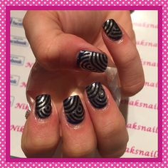 Gel polish with stamping