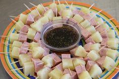 Luau snack. Spam, pineapple, and teriyaki
