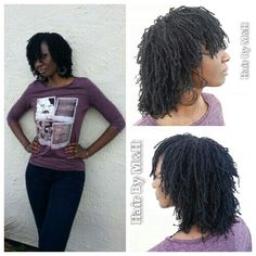 #MariasLocks #2yrs Sisterlocks #SmallLocksRocks