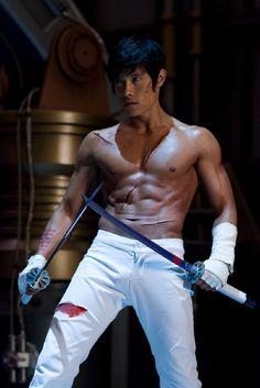 South Korean actor Lee Byung-hun as Storm Shadow in GI Joe