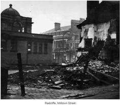 Radcliffe, Milltown Street Public Library Demolition