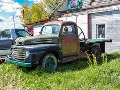 1948-50 First gen Ford flatbed truck in Saskatchewan