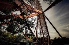 "15 spectacular pictures of abandoned european building ""Farewell to the Fairground."""